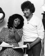 This is an image of 192288 Donna Summer and Mac Davis Photograph & Poster