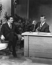 This is an image of 192302 Johnny Carson and Ed Mcmahon Photograph & Poster