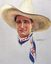This is an image of 249907 Tom Mix Photograph & Poster