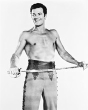 This is an image of 167935 Cornel Wilde Photograph & Poster