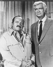 This is an image of 171963 William Conrad & Buddy Ebsen Photograph & Poster