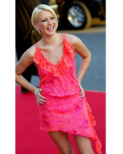 This is an image of 254871 Denise Van Outen Photograph & Poster