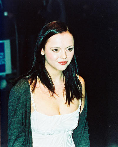 This is an image of 240165 Christina Ricci Photograph & Poster