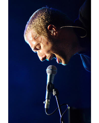 This is an image of 256506 Chris Martin Photograph & Poster
