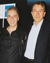 This is an image of 252871 Al Pacino & Robert De Niro Photograph & Poster