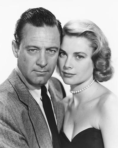 This is an image of 175068 Grace Kelly & William Holden Photograph & Poster