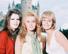 This is an image of 240339 Ann-Margret & Carol Lynley,pamela Tiffin Photograph & Poster