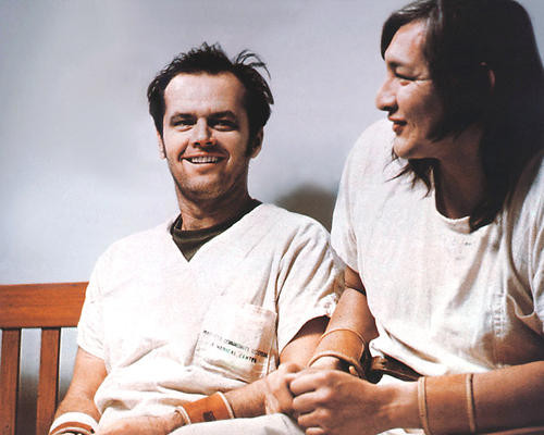 This is an image of 280400 One Flew over the Cuckoo'S Nest Photograph & Poster