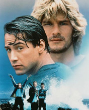 This is an image of 223670 Keanu Reeves & Patrick Swayze Photograph & Poster