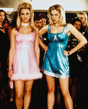This is an image of 225456 Mira Sorvino & Lisa Kudrow Photograph & Poster