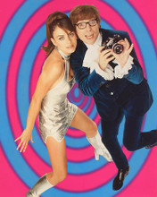 This is an image of 229062 Elizabeth Hurley & Mike Myers Photograph & Poster
