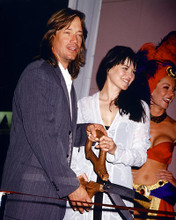 This is an image of 229076 Lucy Lawless & Kevin Sorbo Photograph & Poster