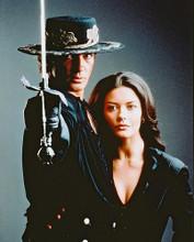 This is an image of 237873 Antonio Banderas & Catherine Zeta-Jones Photograph & Poster