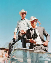 This is an image of 240555 Paul Newman & Lee Marvin Photograph & Poster