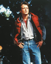This is an image of 242948 Michael J.Fox Photograph & Poster