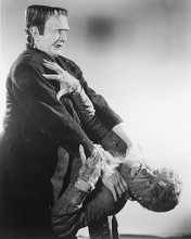 This is an image of 170960 Boris Karloff & Lon Chaney Photograph & Poster
