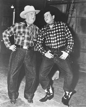 This is an image of 171541 Desi Arnaz & William Frawley Photograph & Poster