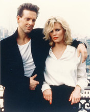 This is an image of 251851 Kim Basinger & Mickey Rourke Photograph & Poster