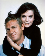 This is an image of 252502 Steve McQueen & Natalie Wood Photograph & Poster