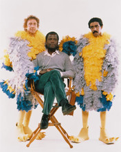 This is an image of 252541 Gene Wilder,sidney Poitier,richard Pryor Photograph & Poster
