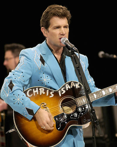 This is an image of 254100 Chris Isaak Photograph & Poster