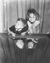 This is an image of 172335 Shirley Temple & Baby Leroy Photograph & Poster