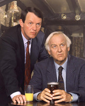 This is an image of 256079 John Thaw and Kevin Whatley Photograph & Poster