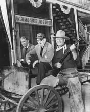 This is an image of 172831 John Wayne, James Stewart & John Ford Photograph & Poster