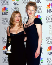 This is an image of 258636 Madonna & Nicole Kidman Photograph & Poster