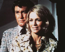 This is an image of 252360 Angie Dickinson & Earl Holliman Photograph & Poster