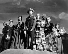 This is an image of 173300 Westward the Women Photograph & Poster