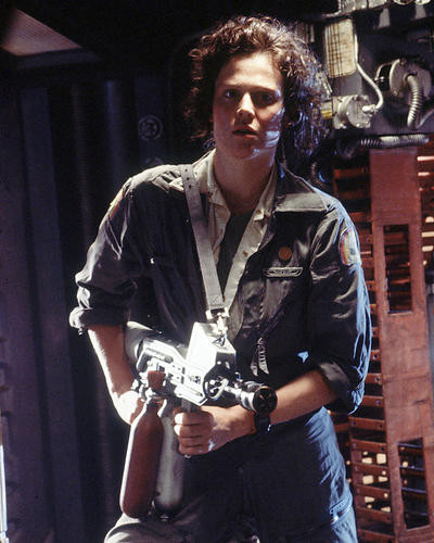 This is an image of 272115 Sigourney Weaver Photograph & Poster