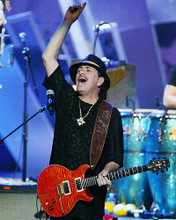 This is an image of 272411 Carlos Santana Photograph & Poster