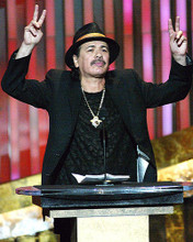 This is an image of 272602 Carlos Santana Photograph & Poster