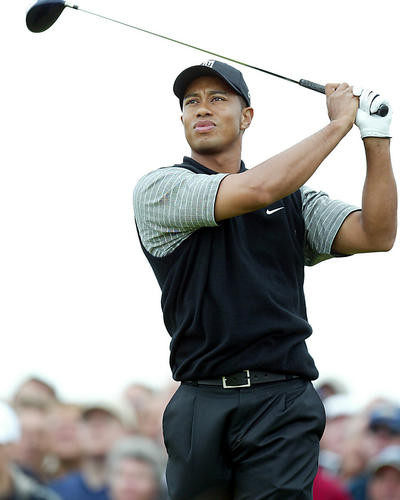 This is an image of 272824 Tiger Woods Photograph & Poster