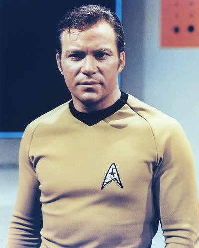 This is an image of 275029 William Shatner Photograph & Poster