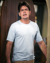 This is an image of 275295 Charlie Sheen Photograph & Poster