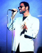 This is an image of 276048 George Michael Photograph & Poster