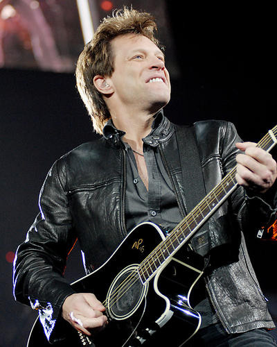 This is an image of 277348 Bon Jovi Photograph & Poster