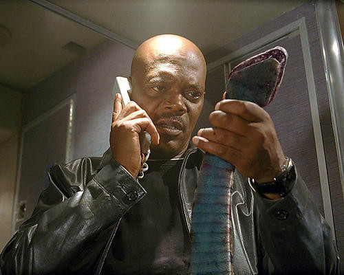 This is an image of 273198 Samuel L.Jackson Photograph & Poster