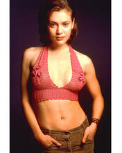 This is an image of 253853 Alyssa Milano Photograph & Poster