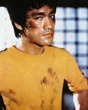 This is an image of 218681 Bruce Lee Photograph & Poster