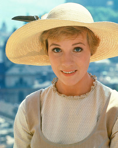 This is an image of 226523 Julie Andrews Photograph & Poster
