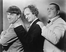 This is an image of 172585 The Three Stooges Photograph & Poster