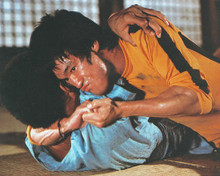 This is an image of 235542 Bruce Lee Photograph & Poster