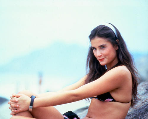 This is an image of 248606 Demi Moore Photograph & Poster