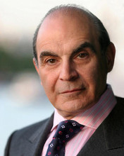 This is an image of 282150 David Suchet Photograph & Poster