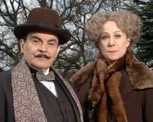 This is an image of 282639 David Suchet Photograph & Poster