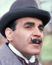 This is an image of 282646 David Suchet Photograph & Poster