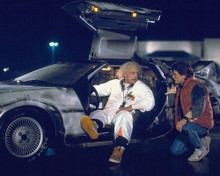 This is an image of 283047 Back to the Future Photograph & Poster